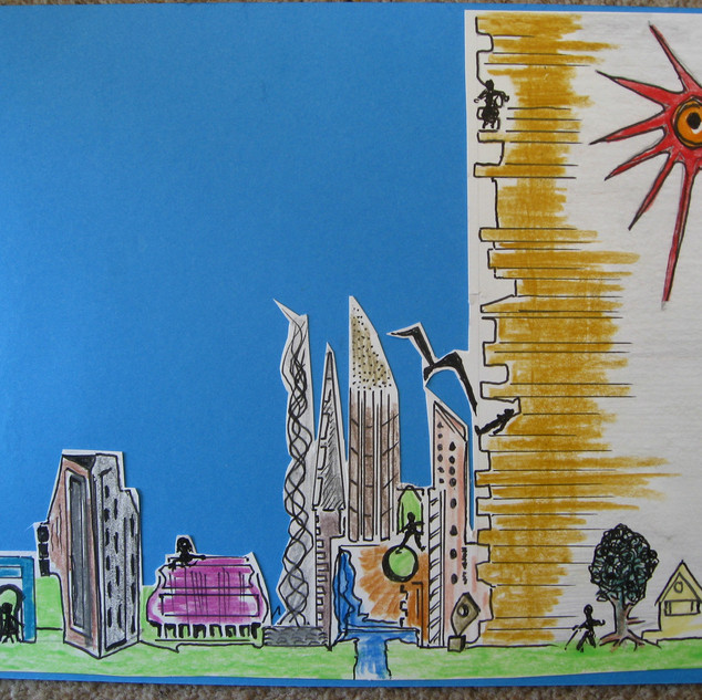 'Blazing Sun' by Tony Holden