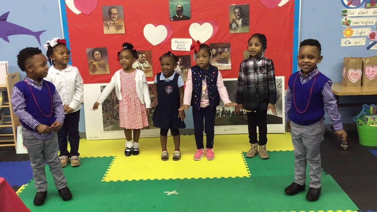 GFCA K3 & 4 Black History/Valentine's Day Program