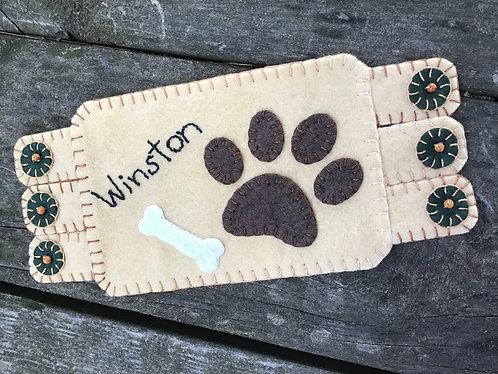 dog paws coaster