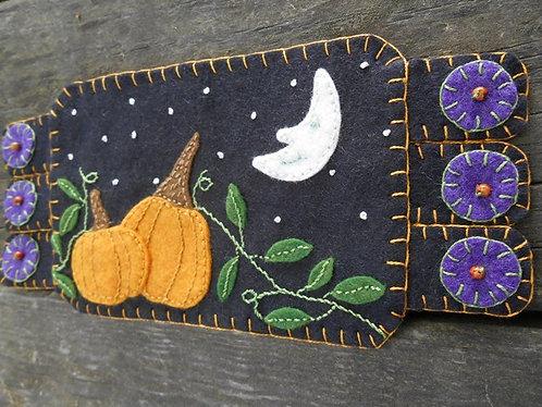 Halloween Pumpkin Patch Coaster
