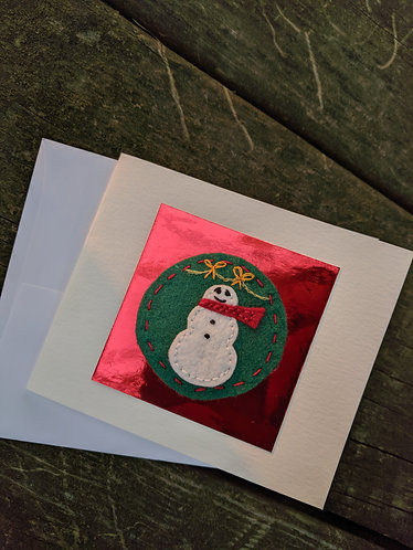 Christmas Cards, Snowman Cards, Stocking, Candy Cane