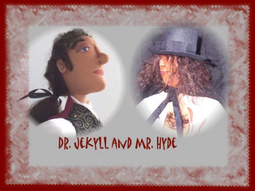 Dr. Jekyll and Mr. Hyde, Art Dolls, OOAK Dolls