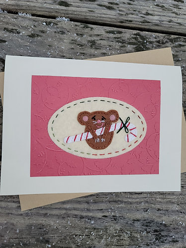 Handmade card, Christmas card