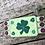 Thumbnail: Shamrock mugrug, st. Patrick's day coastee