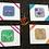 Thumbnail: Pisces birthday card, zodiac greeting card