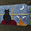 Thumbnail: Handmade Mug Rug, Handmade Coaster, Cats, Kitty Art