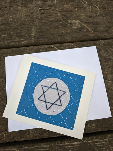 Hanukkah card, greeting card