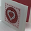 Thumbnail:  Valentine heart card, Valentine's Day card