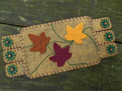 Fall Leaves Mug Rug