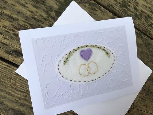 Wedding card, bridal gift