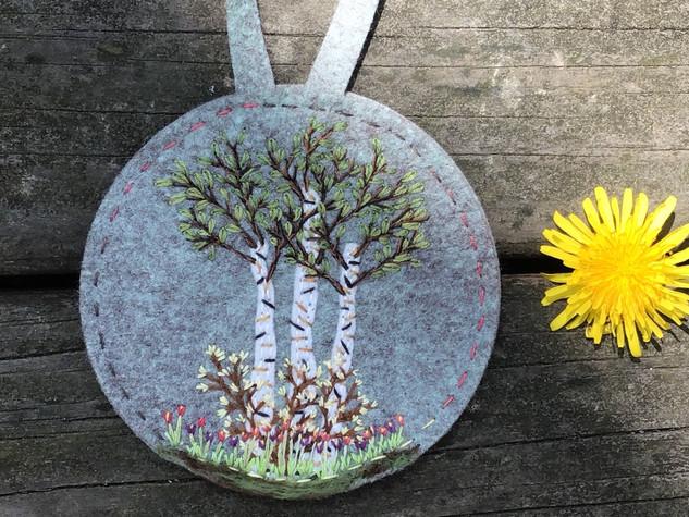Birch Treet Ornament