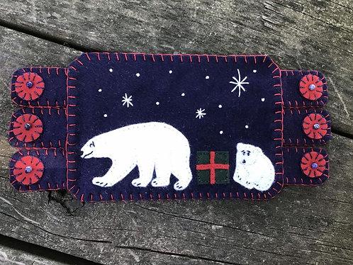 Polar Bears Mug rug