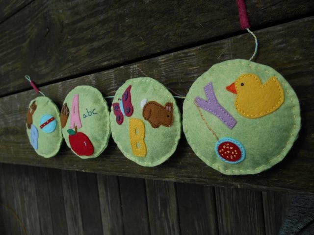 #nurserydecor #babysroom #garland #bunting