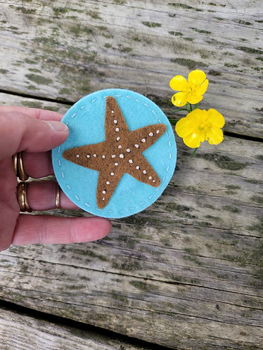Starfish Magnet, Ocean Decor