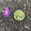 Thumbnail: Wildflower embroidery magnet