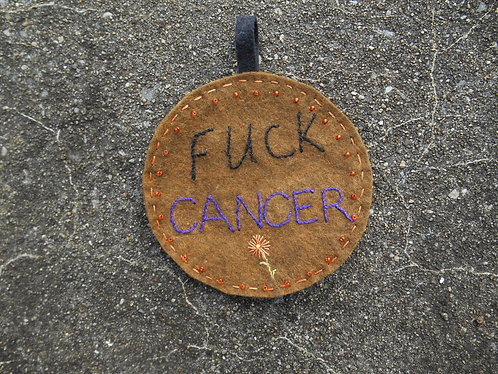 Mini Wall Art, Fuck Cancer, Cancer Wallart, Cancer Survivor, Fight Cancer