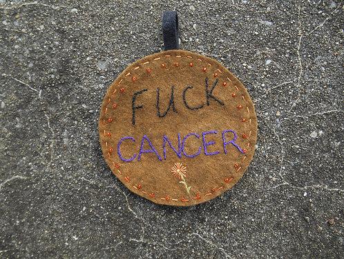 Mini Wall Art, Fuck Cancer, Cancer Wallart, Cancer Survivor, Fight Cancer