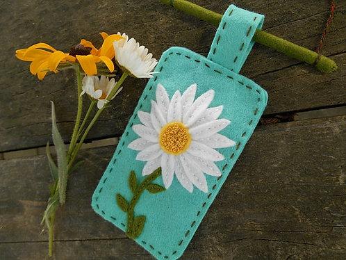 Daisy Decoration, Embroidery Art, Daisy Art