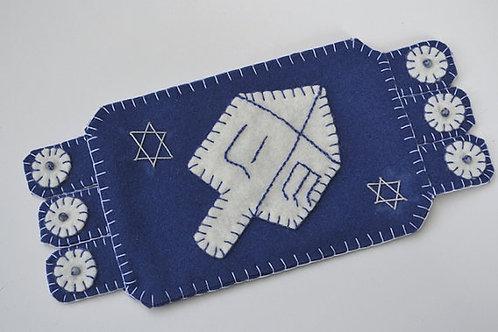 Hanukkah Mug Rug