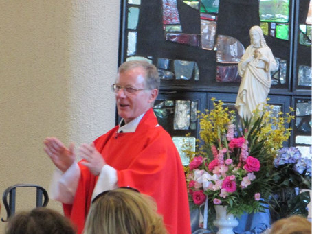 Former Pastors: Fr. Trusz Mass and Reception Recap