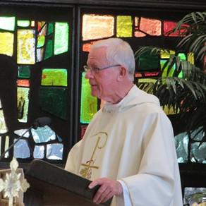 Former Pastors: Fr. Sherlock Mass and Reception Recap
