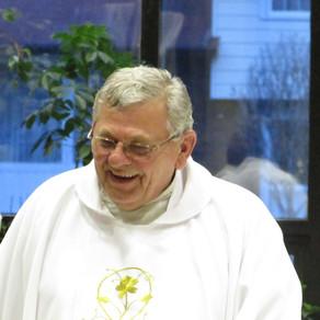 Former Pastors: Fr. Sanvido Mass and Reception Recap