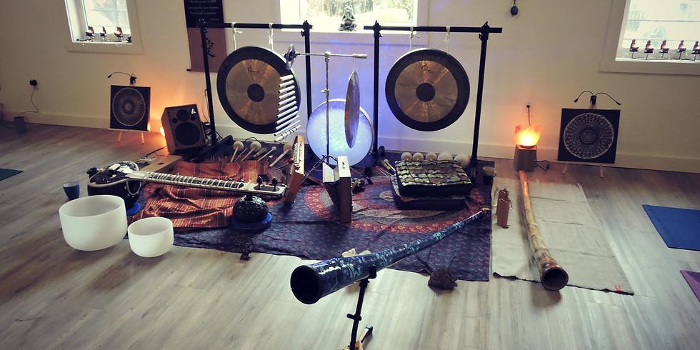 Didgeridoo Sitar Sound Bath Healing