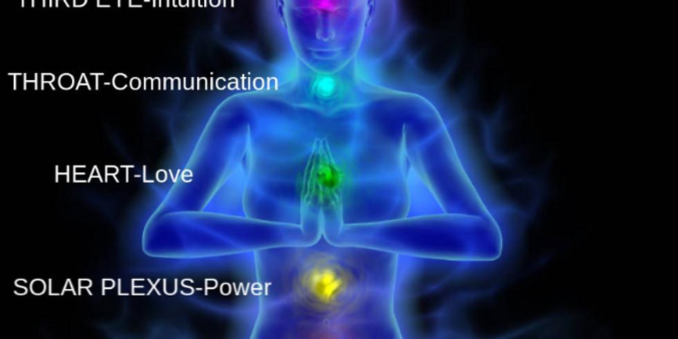 Chakra System & Beginner Meditation Class -  8 Week Course