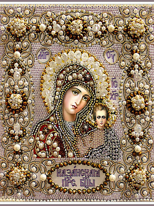 Казанская Божия Матерь (венчальная)