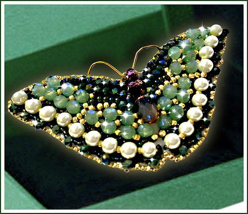 Бабочка Нефрит