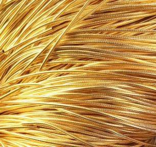 Канитель (золото) 1мм