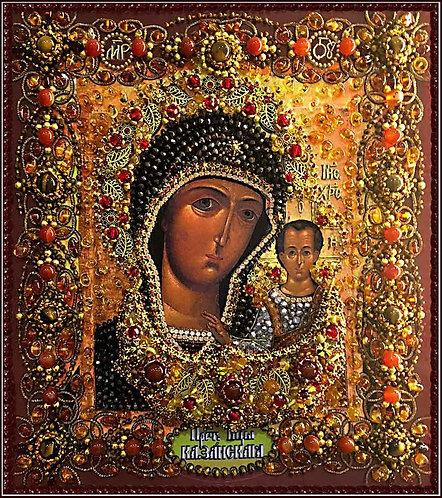 Царица небесная. Икона Казанской Божией Матери