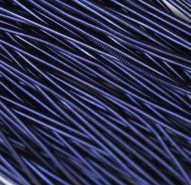 Канитель мягкая(синий) 1мм
