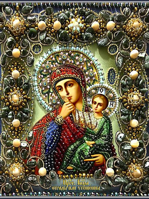 Икона Богородицы отрады или утешения