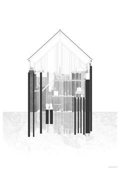 137 Fundamente und ein Dach