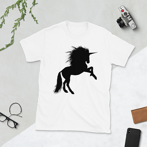 Lucky Unicorn, Short-Sleeve Unisex T-Shirt