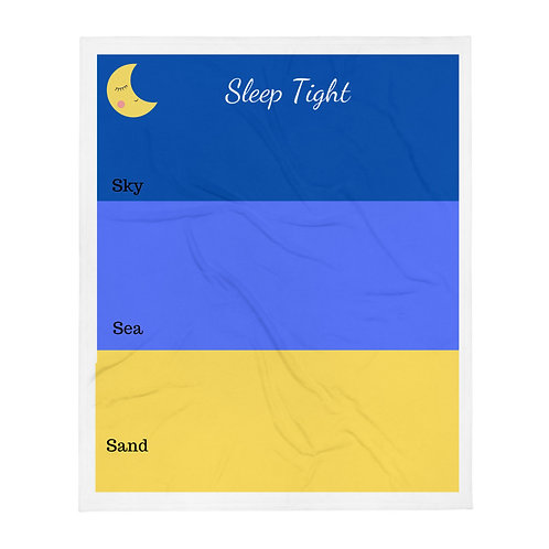 'Sleep Tight' Throw Blanket