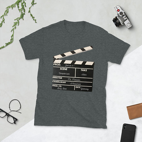 Action! speaks louder than words, Short-Sleeve Unisex T-Shirt