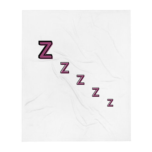 Zzzzz - Throw Blanket