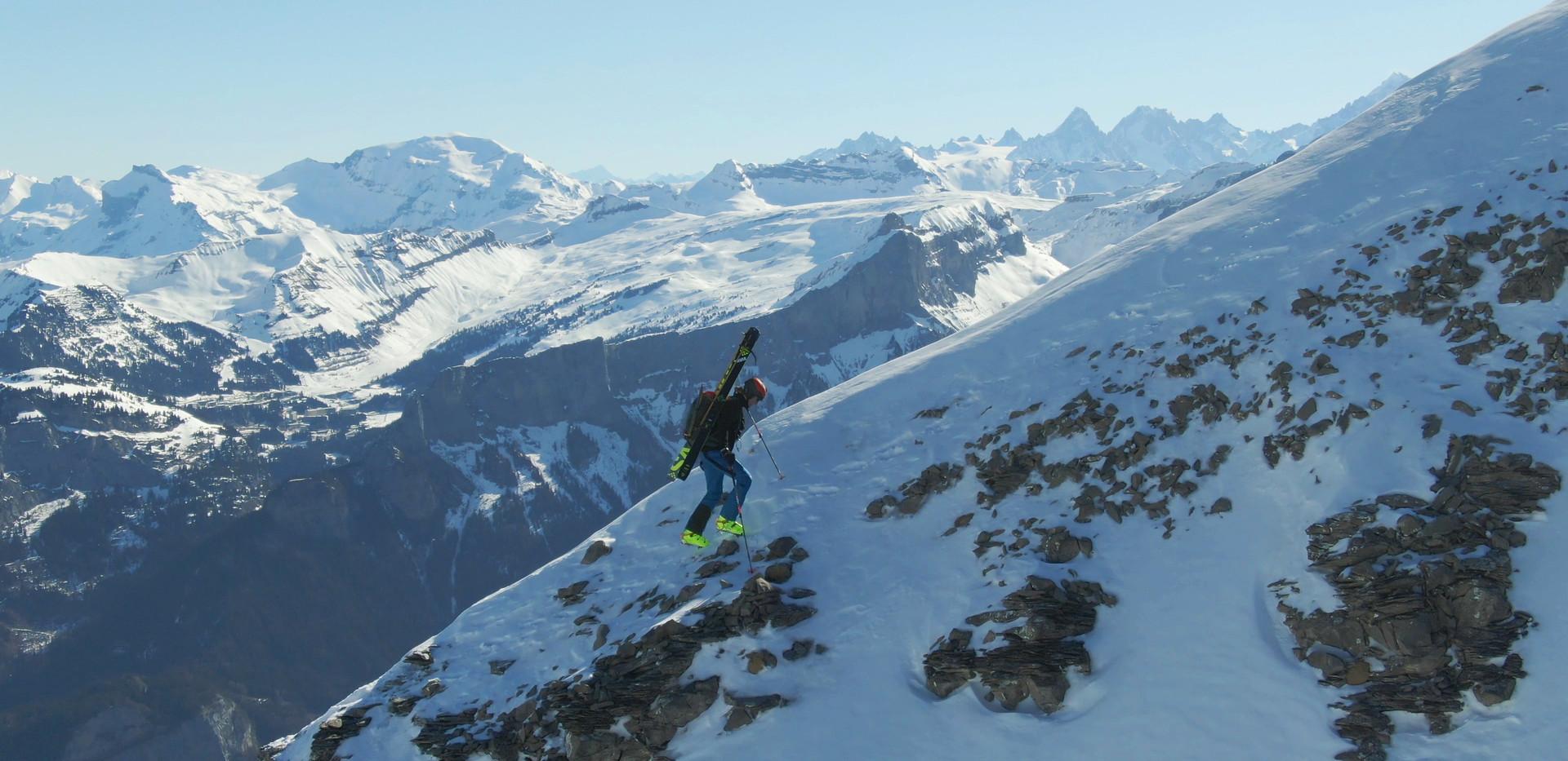 hiking up ridge alps.jpg