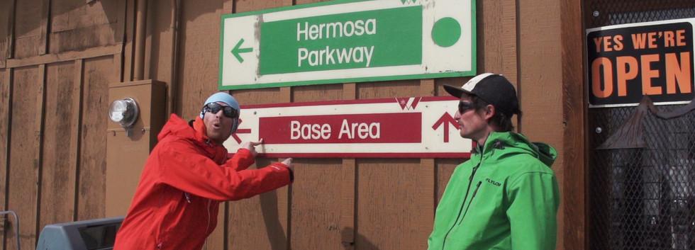 Base Area Sign