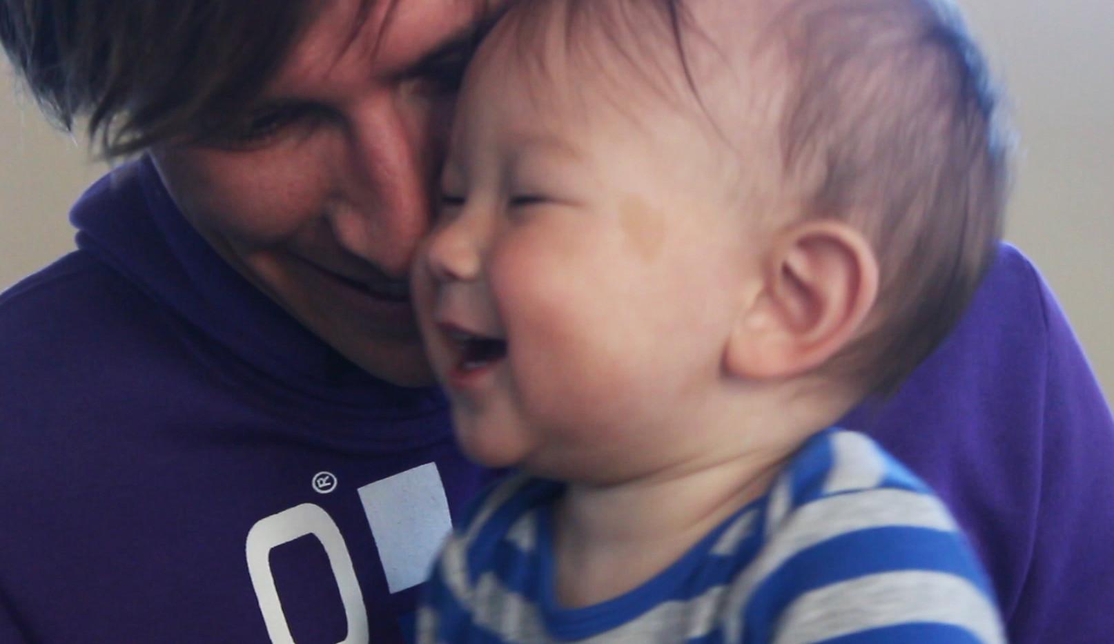 Matthias with his Son