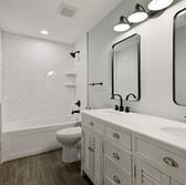 Tiled bathroom surround.JPG