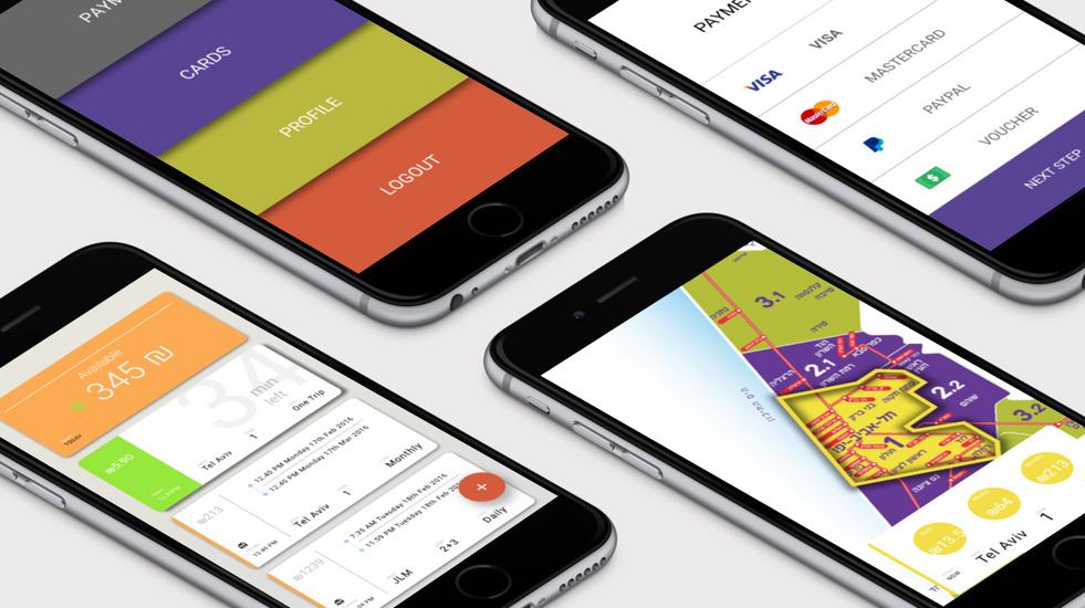 Rav Kav Concept App