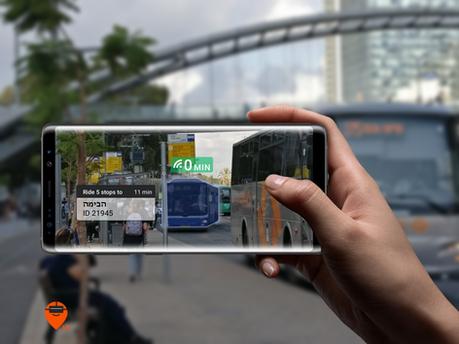 Augmented Reality Moovit