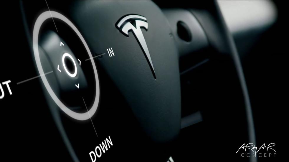 TeslAR Steering Wheel