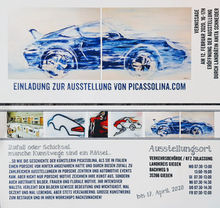 PICASSOLINAS AUTOMOTIVE AUSSTELLUNG in Giessen                    12. Februar, 2020 - 17. April, 202