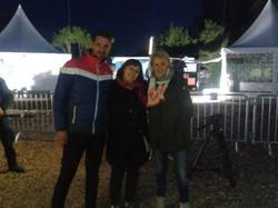 #hessenschau Team bei der Lichtpromenade_#delic_#kronburger_#lichtpromenade_#herborn_#hessentag_#hes