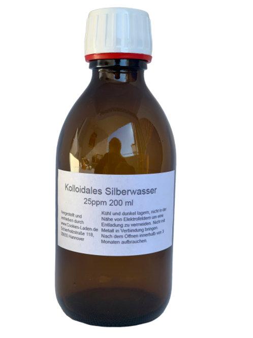 Kolloidales Silberwasser 25ppm + 50ppm