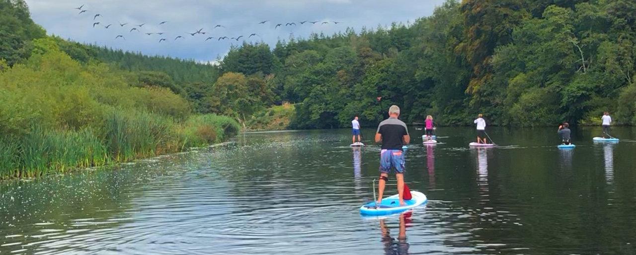 Paddleboard and Yoga Retreat